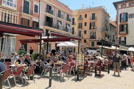 Cort ha reducido un 17 % las terrazas de Palma con la nueva ordenanza
