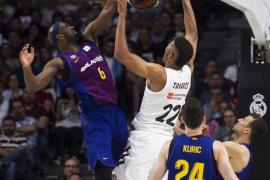 El Real Madrid barre al Barça en el estreno de la final ACB
