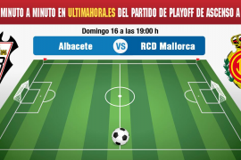 Así hemos vivido en directo el Albacete Balompié-Mallorca