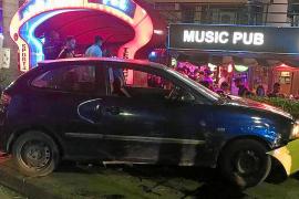 Un conductor borracho siembra el pánico de madrugada en Magaluf