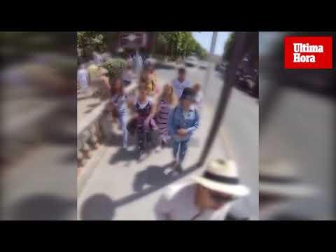 Detenidos cinco carteristas «a la caza» del turista en el centro de Palma