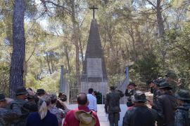 Homenaje a los prisioneros franceses en Cabrera