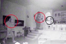 Una cámara graba el asalto y detención de dos ladrones en un chalet de Alcúdia