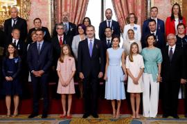 El Rey reafirma su compromiso con los españoles en el quinto aniversario de su proclamación