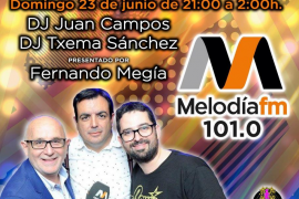 Fiesta MelodíaFM para la Noche de San Juan en Calvià