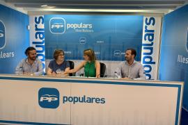 Mercedes Celeste será la portavoz del PP en Cort, tras la renuncia de Julio Martínez