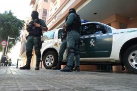 Operación contra el narcotráfico en varios barrios de Palma