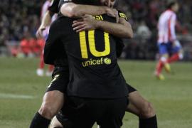 Messi mantiene la ilusión del Barça en la pelea por la Liga