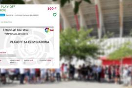Empieza la reventa y la puja por las entradas del Real Mallorca-Deportivo