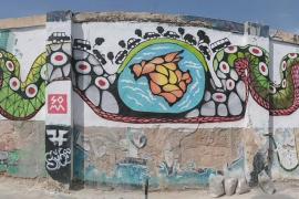 La OCB pide a Sóller que rehabilite el mural contra la masificación turística