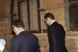La infanta Cristina y Urdangarin han regresado a Madrid esta mañana