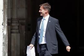 Johnson competirá con Hunt por ser el primer ministro que ejecute el Brexit