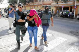 Seis detenidos en Son Oliva en una operación de la Guardia Civil contra la mafia organizada