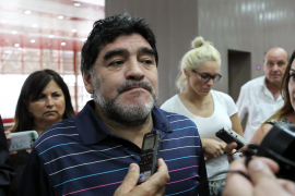 Maradona: «No me estoy muriendo»