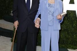 Kirk Douglas y su esposa