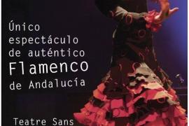 Flamenco y desgustación en el Teatro Sans de Palma