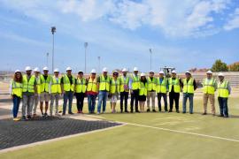 Arrancan las obras en el polideportivo Germans Escalas