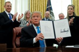 Trump confirma que ordenó un ataque contra Irán pero después lo canceló