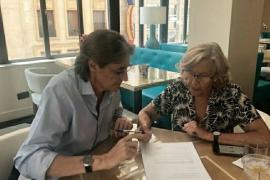 Carmena seguirá trabajando para Más Madrid con su «experiencia y visión»