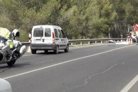 Un joven fallece en Ibiza tras un accidente de moto