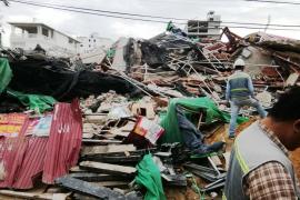 Siete personas mueren en el derrumbe de un edificio en construcción de siete plantas en Camboya