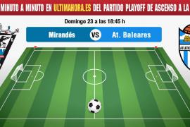 Así se ha vivido el partido Mirandés-Atlético Baleares