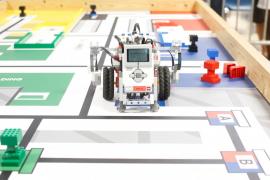 La tercera edición del torneo local de la World Robot Olympiad, en imágenes .