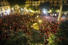 El Mallorca celebrará el ascenso a Primera este lunes en Palma