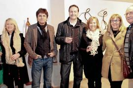 El escultor Ramón Díaz presenta su obra en la galería «Les Arts» de Alcúdia