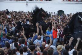 Los 'Jocs des Pla' cierran la fiesta en Ciutadella
