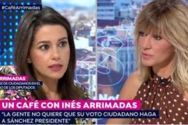 Arrimadas reafirma el 'no' de Ciudadanos al PSOE