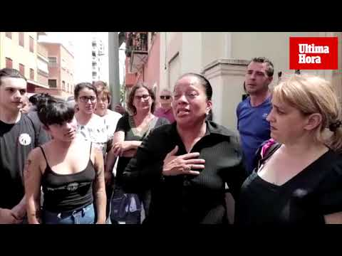 Paralizan un desahucio en Palma