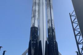 Las cenizas de 152 personas suben al espacio con el cohete Falcon Heavy