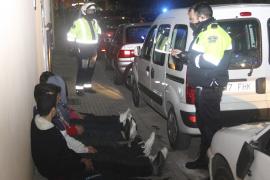 Seis detenidos en una batalla campal entre bandas en Palma