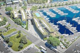 Las obras del Club de Mar que abrirán el puerto a la ciudad empezarán en otoño