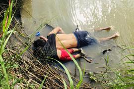 La trágica muerte de un padre salvadoreño y su hija huyendo a EEUU