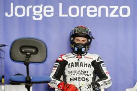 Lorenzo: «La lluvia nos ha impedido finalizar todo lo que queríamos ver»