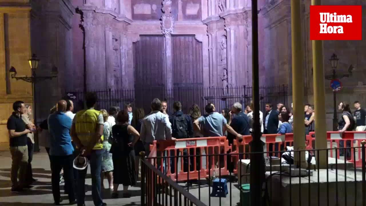 ARCA rechaza la nueva iluminación de la Seu tras la prueba realizada