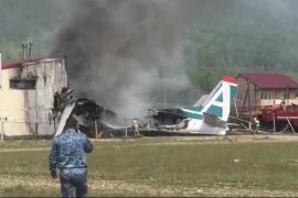 Aterrizaje de emergencia mortal en Rusia