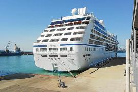 Llega a Alcúdia el segundo y último crucero del año en pleno debate sobre la masificación