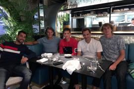 Las estrellas europeas de la Laver Cup, de cena en Londres
