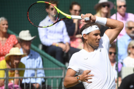 Nadal llegará sin victorias sobre hierba a Wimbledon