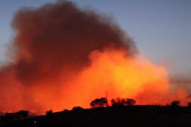 El fuego iniciado en Almorox, Toledo, ha quemado más de 2.000 hectáreas
