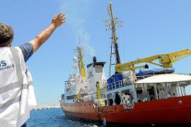 La mitad de los refugiados del 'Aquarius' han dejado Mallorca