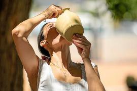 Alerta amarilla por calor en las Pitiusas, con temperaturas de hasta 36 grados