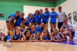 Baleares, campeona de España cadete de voleibol femenino