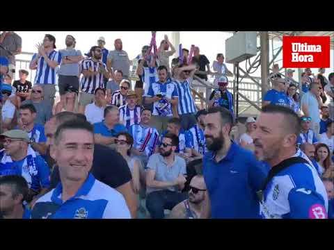 Así se ha vivido el Atlético Baleares-Mirandés