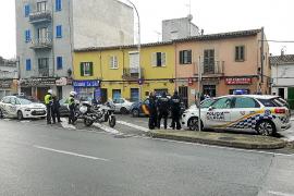 Tres heridos de arma blanca durante la pelea en un bar de la calle Manacor