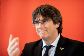 El expresident catalán Carles Puigdemont