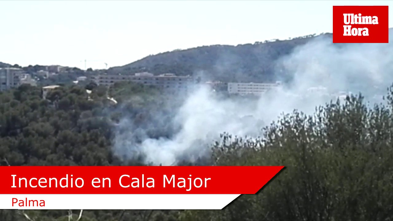 Incendio en Cala Major